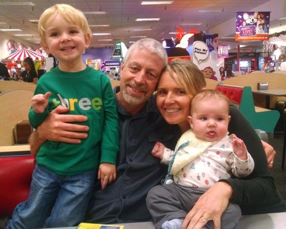 Bapa, Mimi, and boys!